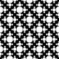 Geometric seamless pattern with octagons