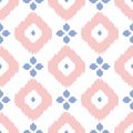 Geometric seamless pattern in pantone color of the