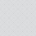 Geometric seamless pattern with repeating diamonds Stock Photos