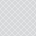 Geometric seamless pattern with repeating diamonds and crosses texture with intersecting dashed lines Stock Image