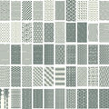 50 geometric seamless pattern set. Royalty Free Stock Photo
