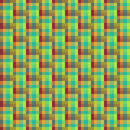Geometric seamless pattern of square, abstract background, optical illusion. Checkered design, bright multicolored squares and the Royalty Free Stock Photo
