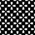 Geometric seamless pattern, traversal carved figures