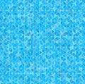 Geometric seamless pattern vector illustration of a blue Royalty Free Stock Images