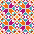 Geometric seamless pattern wallpaper with abstract ethnic Stock Photos
