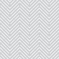 Geometric seamless pattern with waves and dashed lines Stock Photo
