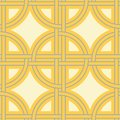 Geometric seamless pattern. Yellow gray and white colored background