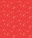 Geometric seamless vintage pattern background with