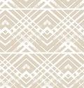 Geometric striped ornament. Vector pastel seamless pattern. Modern stylish texture. Christmas decoration ornament