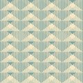 Geometric wallpaper pattern seamless background abstract vintage vector illustration Stock Photography