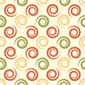 Geometrical background with spirals. Abstract seamless