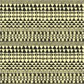 Geometrical black and white ethnic pattern Royalty Free Stock Photography