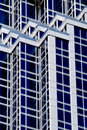 Geometrical building lines Royalty Free Stock Photography