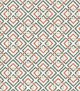 Geometrical pattern with colored squares on white background Stock Photography