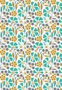 GEOMETRICAL PATTERN DESIGN ALLOVER BACKGROUND ART FOR FABRIC