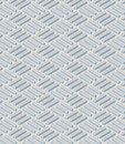 Geometrical pattern with gray blue parallelepiped seamless Royalty Free Stock Photo