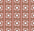 Geometrical seamless pattern Royalty Free Stock Photos