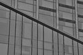 Geometry in buildings lines and geometric shapes an modern office building Stock Photo