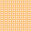Geometry pattern vector orange seamless Stock Photos