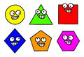 Geometry Shapes Clipart