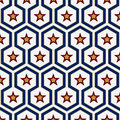 Geometry star pattern Royalty Free Stock Image
