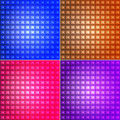 Geomteric square background set abstract backgrounds eps Stock Images