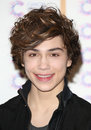 George shelley of union j arriving at the james jog fundraising event for cancer relief kensington london picture by henry harris Royalty Free Stock Photos