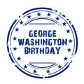 George Washington Birthday.