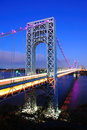 George Washington Bridge Royalty Free Stock Images