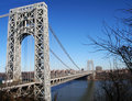 George Washington Bridge Stock Photo