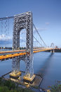 George Washington Bridge, New York. Royalty Free Stock Photo