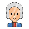 George Washington character comic