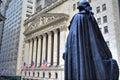 George Washington, Federal Hall, Wall St, Manhattan, NY Royalty Free Stock Photo