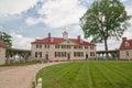 George Washington house in Mount Vernon, VA Royalty Free Stock Photo