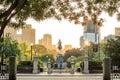 George Washington monument in Public Garden Boston Royalty Free Stock Photo