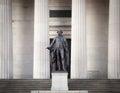 George Washington monument Royalty Free Stock Photo