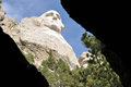George washington on mt rushmore in south dakota during a beautiful labor day week Royalty Free Stock Photo
