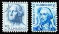 George Washington Postage Stamp Royalty Free Stock Photo