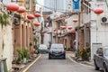 Georgetown penang malaysia circa october old streets and architecture of georgetown penang malaysia Stock Photography