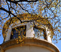 Georgetown Texas architecture tree Royalty Free Stock Photo