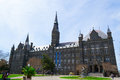 Georgetown university main building was founded by john carrol in Royalty Free Stock Images