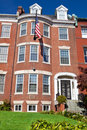 Georgian Brick Townhouse Row House Washington DC Royalty Free Stock Photography