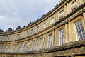 Georgian Crescent in Bath England Royalty Free Stock Photography