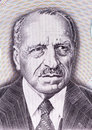 Georgios papanikolaou on drachmes banknote from greece greek pioneer in cytopathology and early cancer detection inventor of the Royalty Free Stock Photography