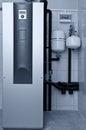 Geothermal furnace