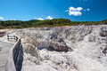 Geothermal Landscape - Rotorua, New Zealand Royalty Free Stock Images