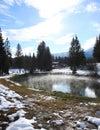 Geotermální rybník