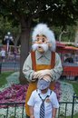 Geppetto at Disneyland Stock Photo
