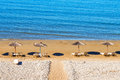 Gerakas beach (protected Caretta Caretta turtle nesting site) on Zakynthos island Royalty Free Stock Photo