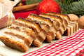Gerbeaud traditional hungarian cake christmas close up zserbó Stock Photography